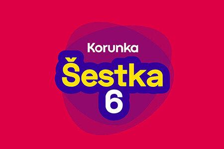Šestka – hlavní loterie od Korunky