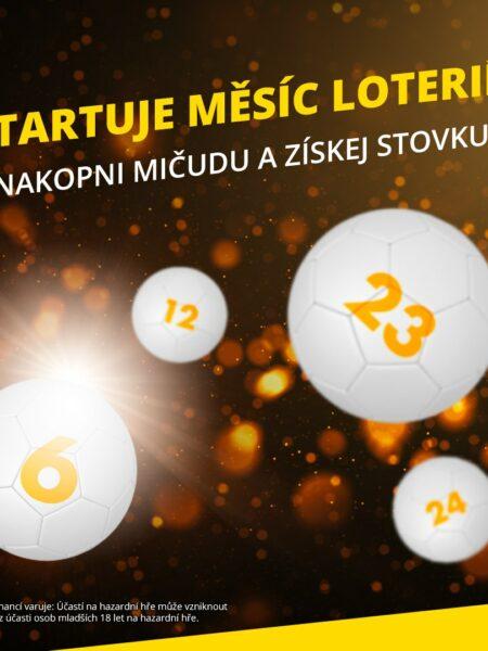 """Vyzkoušej si loterijní hry u Fortuny zdarma, vrámci akce """"Měsíc loterií"""""""